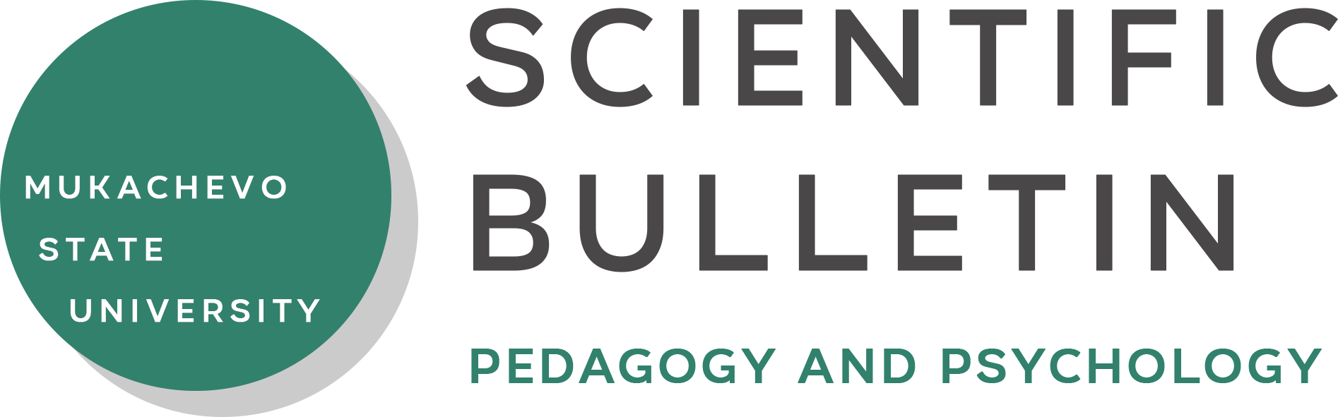 Scientific Bulletin of Mukachevo State University. <br>Series «Pedagogy and Psychology» logo